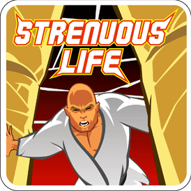 The Strenuous Life Podcast Cover
